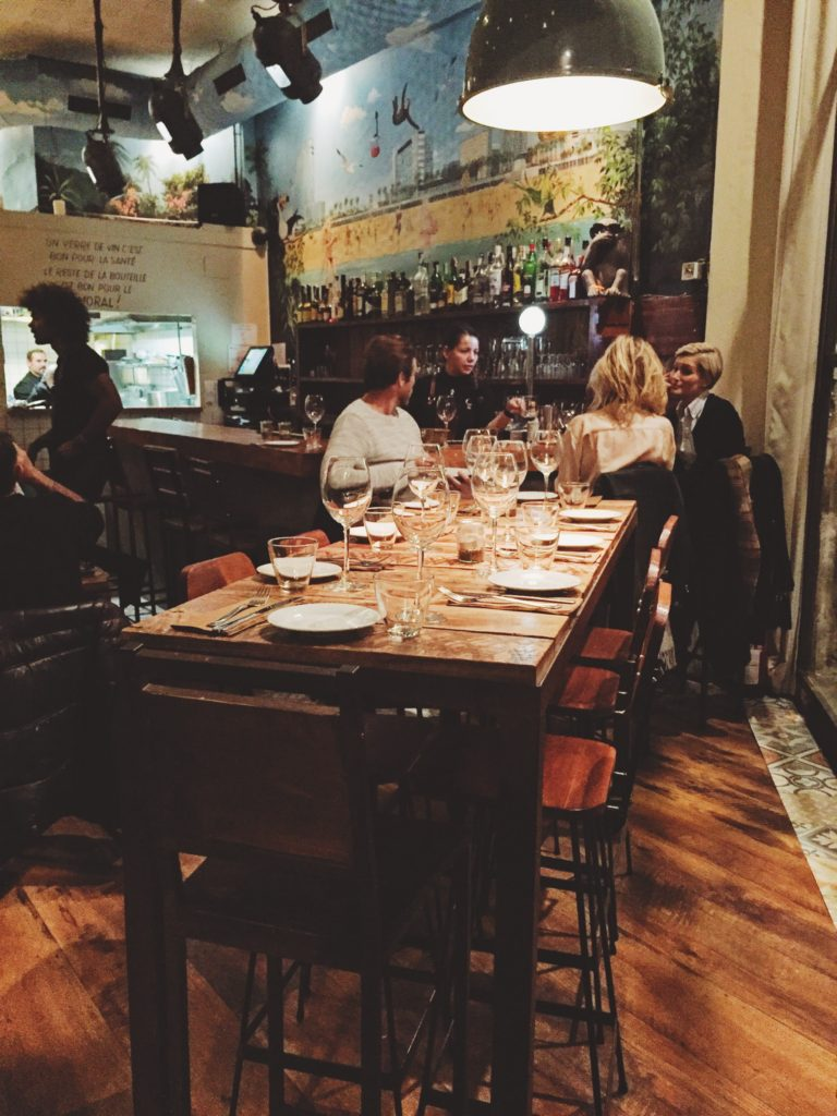 Interior del restaurante Gourmet Tapas by Sensi