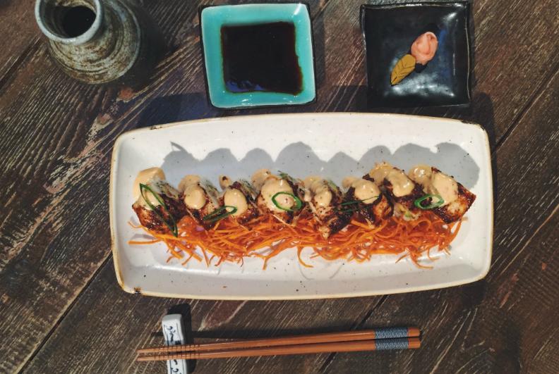 Makis criollos del restaurante Totora