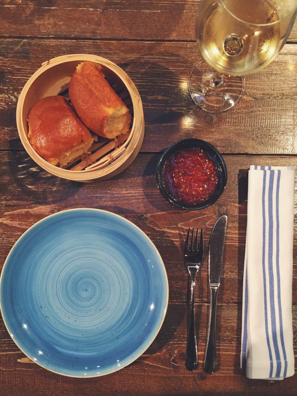 Aperitivo del restaurante Totora