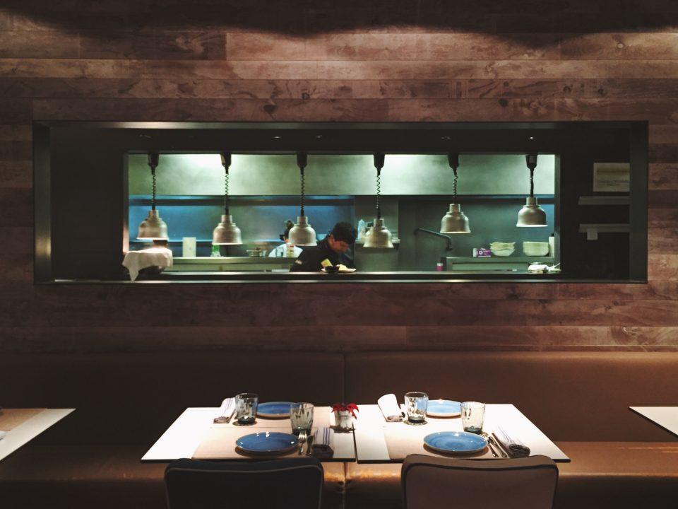 Cocina del restaurante Totora