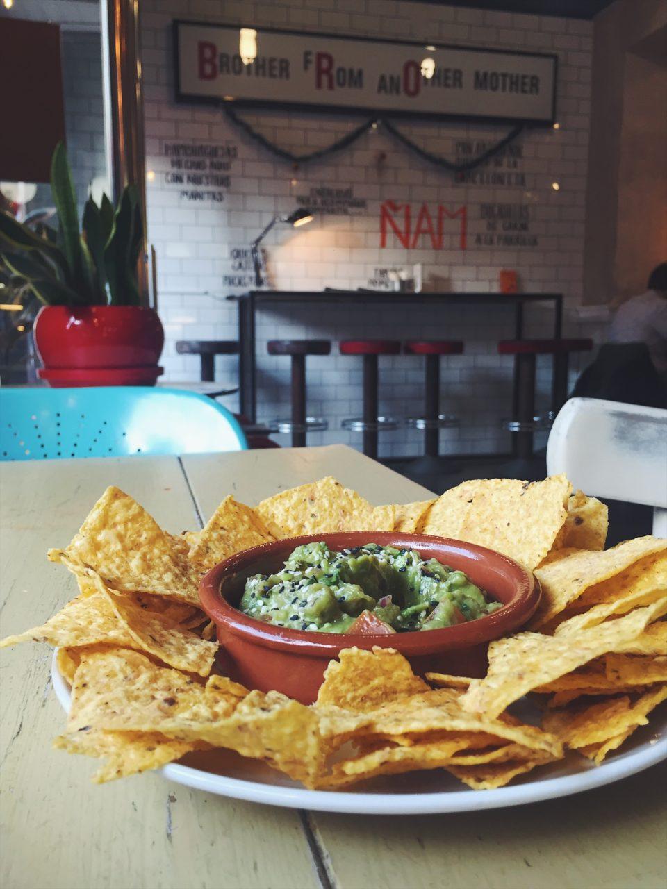 Nachos del restaurante BRO Room