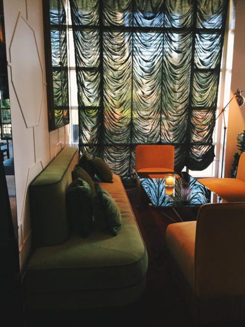 Interior de de Frank's en el Hotel Arts Barcelona