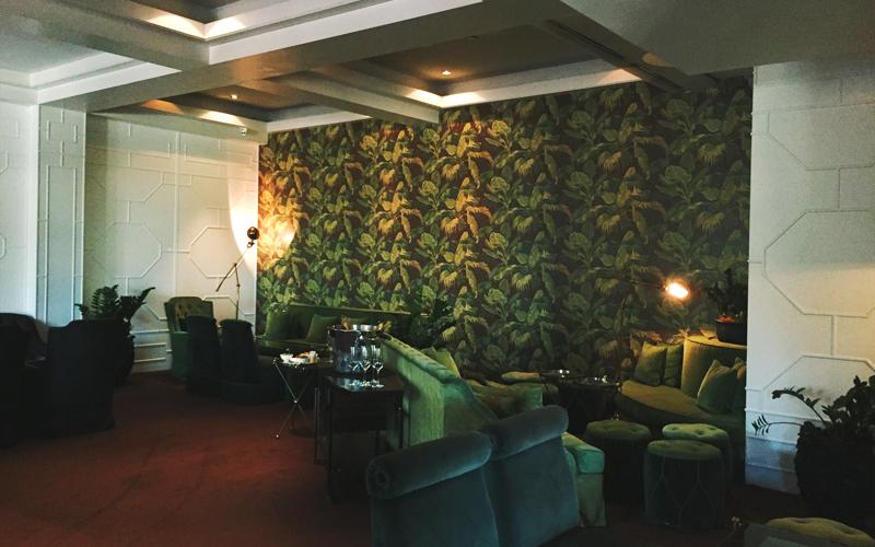 Interior de Frank's en el Hotel Arts Barcelona