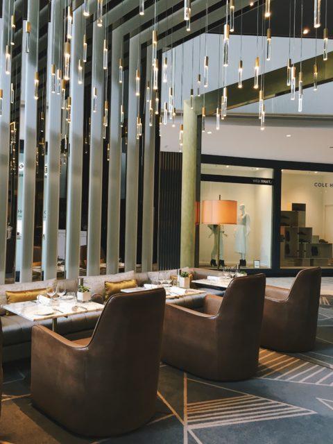 Restaurante B24 del hotel Fairmont Rey Juan Carlos I