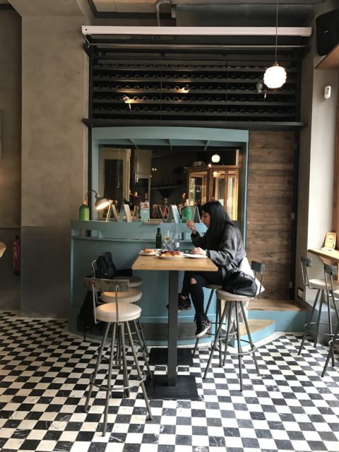 Restaurante Casa Nova en el Born