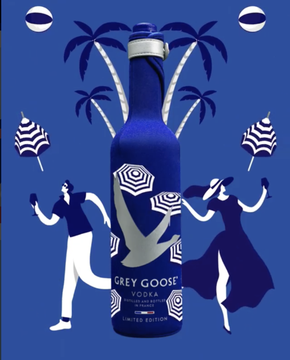 Grey Goose by Quentin Monge