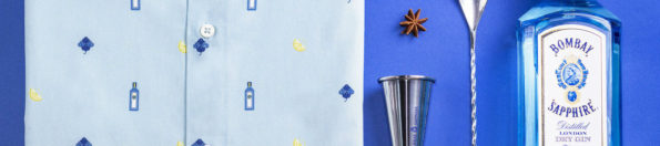 Bombay Sapphire y Brava Fabrics